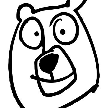 Doodles - Bear  by Sparafuori