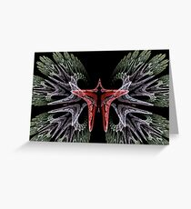Butterfly Wings Greeting Card