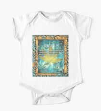 Mary Bible Verse One Piece - Short Sleeve