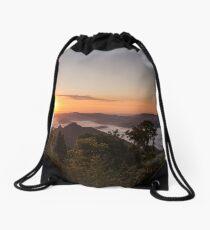 Sunrise at Mt Warning  Drawstring Bag