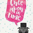 Once Upon A Typewriter (Pink) by Catherine Slavova