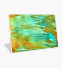 abstract oil seascape Laptop Skin