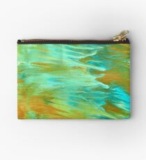 abstract oil seascape Studio Pouch
