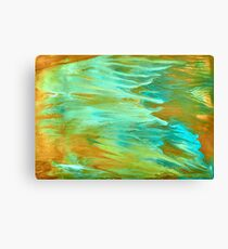 abstract oil seascape Canvas Print