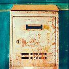 Rusty mailbox by Silvia Ganora