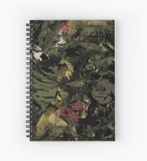 Nico and the Niners - New era Twenty One Pilots - Camo Spiral Notebook
