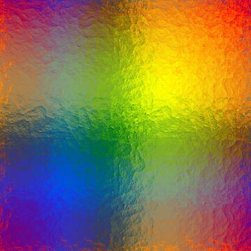 Rainbow Abstract Gradient Painted Pattern by MarkUK97