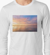 Good for the Soul - Mesmerising Sunrise Clouds Over Lustrous Waters Long Sleeve T-Shirt