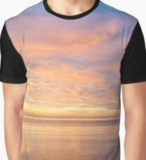 Good for the Soul - Mesmerising Sunrise Clouds Over Lustrous Waters Graphic T-Shirt