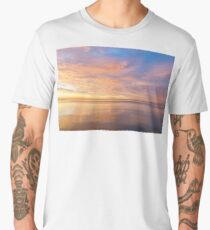 Good for the Soul - Mesmerising Sunrise Clouds Over Lustrous Waters Men's Premium T-Shirt