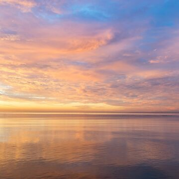 Good for the Soul - Mesmerising Sunrise Clouds Over Lustrous Waters by GeorgiaM