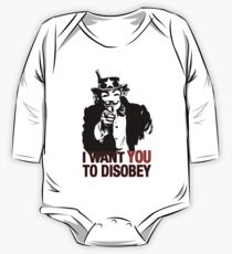 I want you to disobey One Piece - Long Sleeve