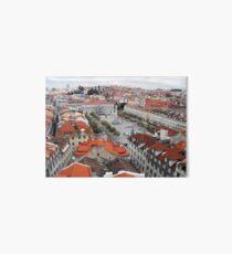 Looking Down on Lisbon Art Board