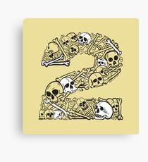Bones 2 Canvas Print