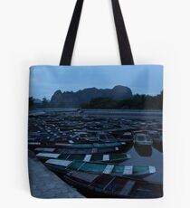 Tam Coc Boats Tote Bag