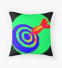 Pixiilated Target 1 by RootCat Floor Pillow