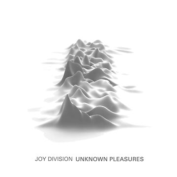 Joy Division - Unknown Pleasures - White by blacktocomm