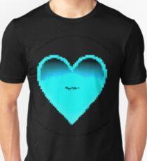 Pixiilated Heart 2 by RootCat Unisex T-Shirt
