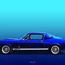 GT 350 Side View by Keith Hawley