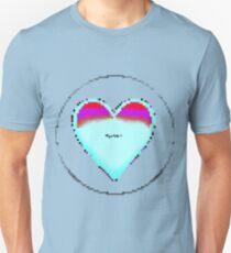 Pixiilated Heart 3 by RootCat Unisex T-Shirt