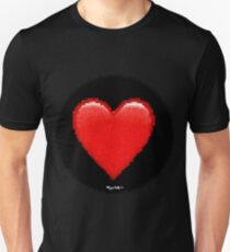 Pixiilated Heart I by RootCat Unisex T-Shirt