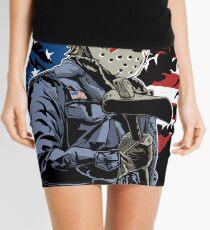 American Flag Axe Murderer  Mini Skirt