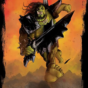 War Orc!  by simonbreeze