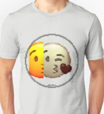Pixiilated Love by RootCat Slim Fit T-Shirt