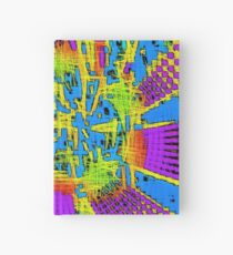 Color elements of cyberspace Hardcover Journal