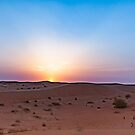 Desert Sunset - Dubai by Yannik Hay
