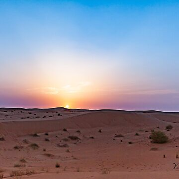 Desert Sunset - Dubai by Photograph2u