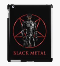 Robocop - Black Metal iPad Case/Skin