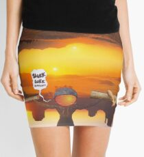 M Blackwell - Layerland 2: Saluting Four Sunrises Mini Skirt