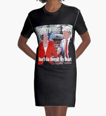 Don't Go Brexit My Heart Graphic T-Shirt Dress