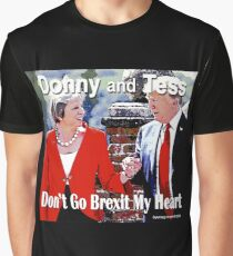 Don't Go Brexit My Heart Graphic T-Shirt
