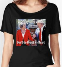 Don't Go Brexit My Heart Women's Relaxed Fit T-Shirt