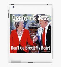 Don't Go Brexit My Heart iPad Case/Skin