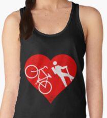 I Love Hike and Bike Women's Tank Top