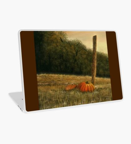 OCTOBER IN THE SOUTH, Acrylic Painting, for, prints and products Laptop Skin