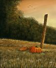 OCTOBER IN THE SOUTH, Acrylic Painting, for, prints and products by Bob Hall©