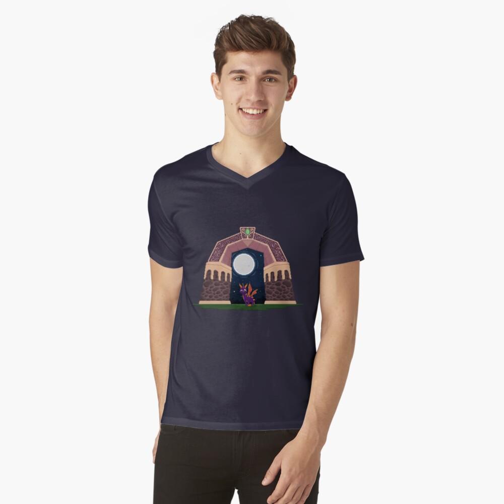 Spyro Welttor T-Shirt mit V-Ausschnitt