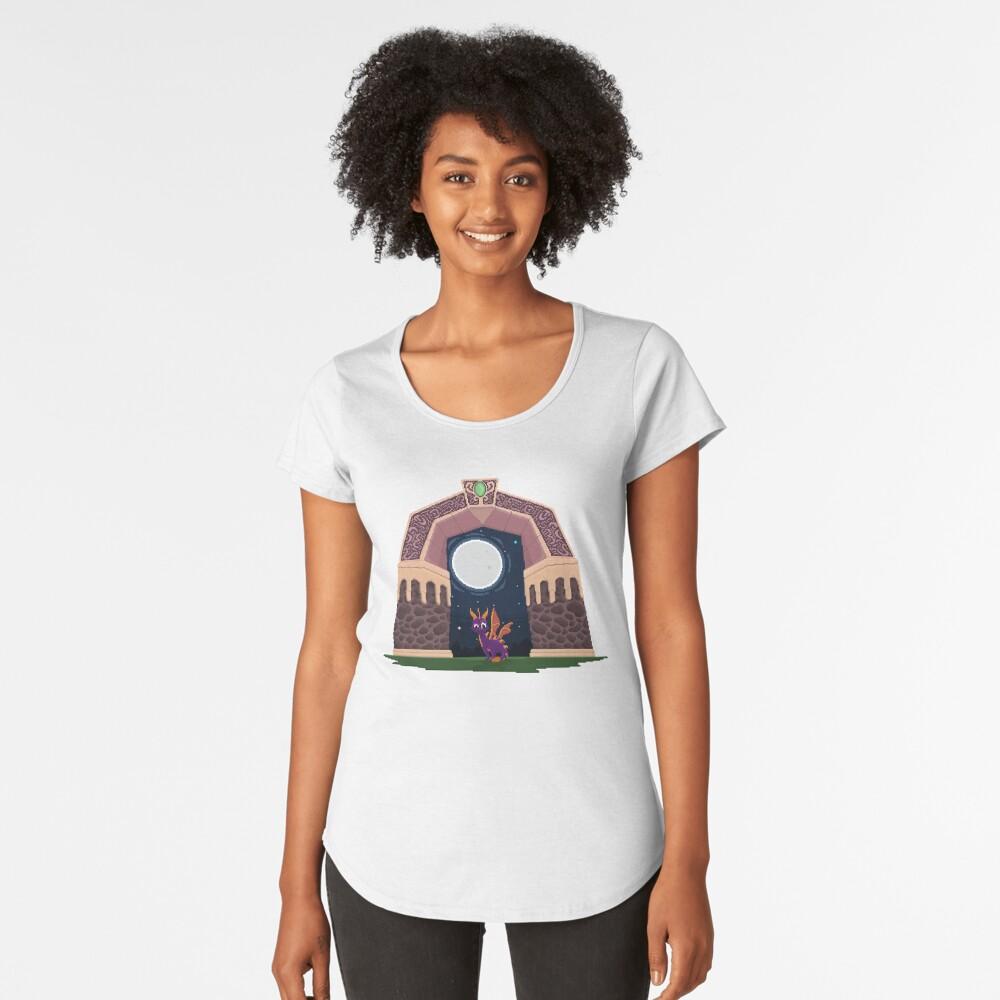 Spyro Welttor Premium Rundhals-Shirt