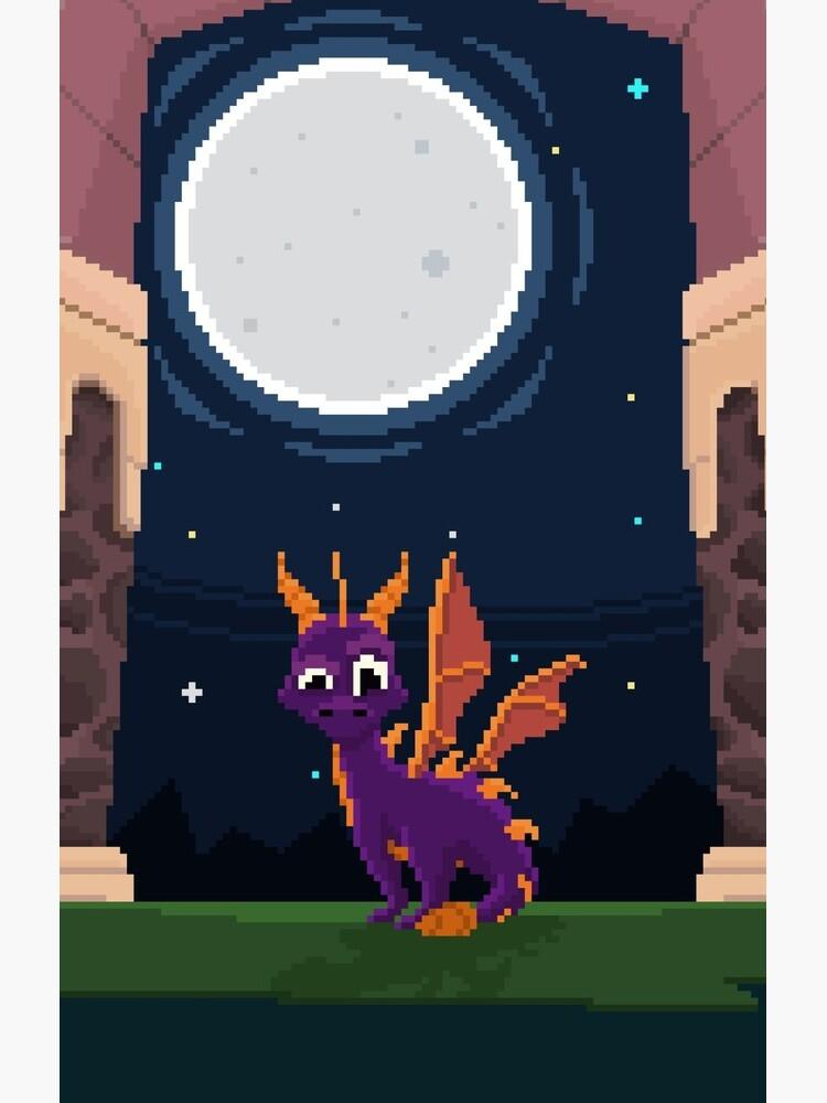 Spyro Welttor von Pixel-Bones