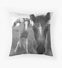 And Mammy Makes Three Throw Pillow
