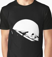 Starman In Space Tesla Roadster Graphic T-Shirt