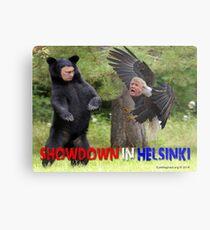 Showdown in Helsinki Metal Print