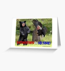 Showdown in Helsinki Greeting Card