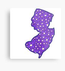 New Jersey Violet Metal Print