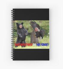 Showdown in Helsinki Spiral Notebook