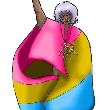 Pansexual Thief King Bakura by hyperionnebulae